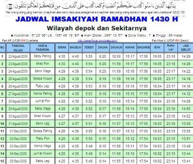 snapshot_imsakiyah_1430_depok